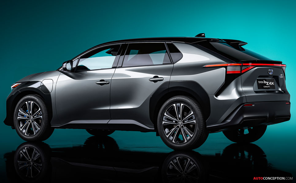 Toyota 'bZ4X' Concept Previews New Electric SUV