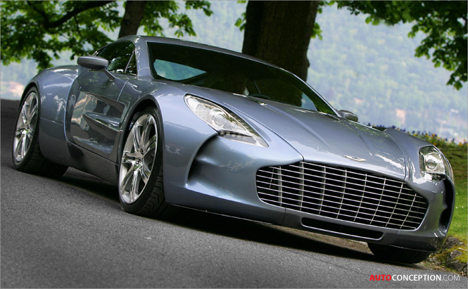 Aston Martin Line Up for Salon Privé 2012 to Include One-77 Cycle