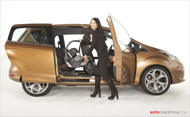 New Ford B-MAX 'Easy Access' Door Design