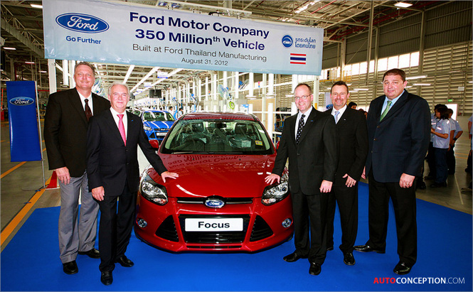 Ford Marks Milestone: 350 Millionth Vehicle Produced in 109-Year History