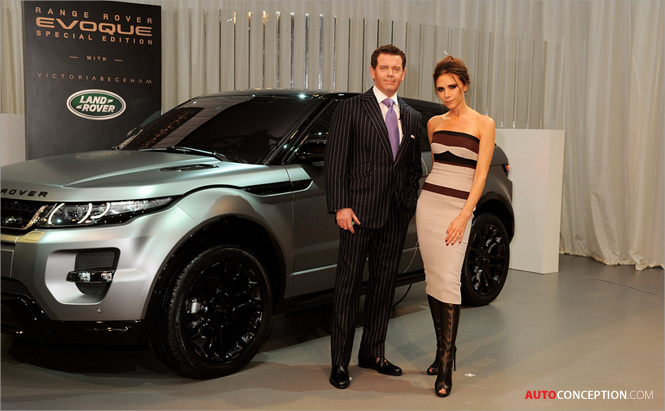 Bridge of Weir Leather Selected for New Range Rover Evoque Special Edition with Victoria Beckham
