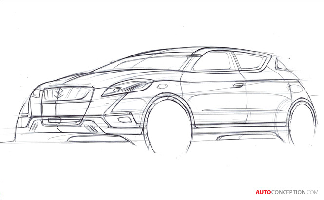 Suzuki's Crossover Concept 'S-Cross' to Make Debut at 2012 Paris Motor Show