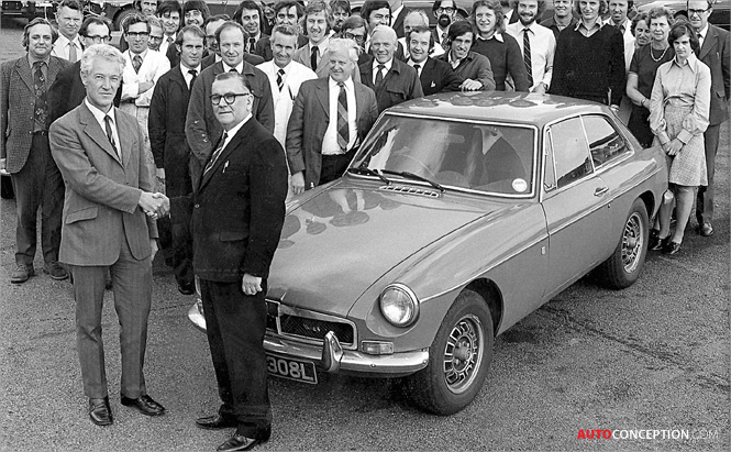 BOOK: Don Hayter and the Birth of the MGB