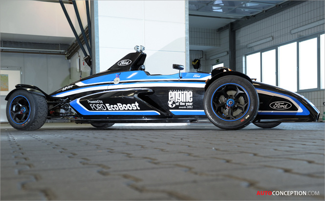 Ford 1.0-litre Ecoboost-Powered Race Car Successful at Nürburgring Circuit
