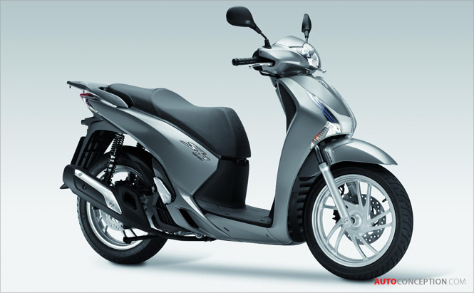 Honda Announces New SH125i and SH150i Scooters for Europe