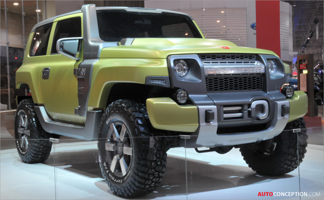 Ford-Owned Troller Unveils TR-X Concept at Sao Paulo Show