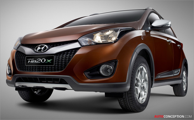 Hyundai Reveals New Brazil-Exclusive Crossover Model, HB20X