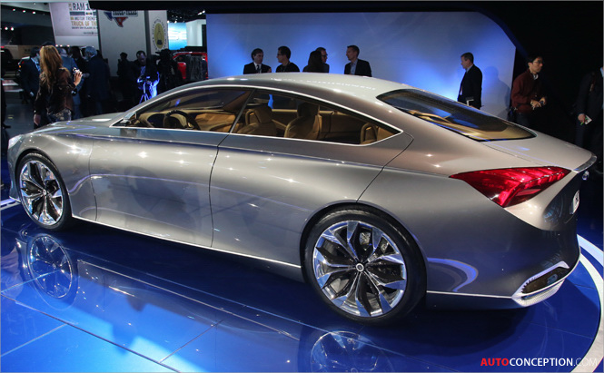Hyundai HCD-14 Named Best Concept Design by Autoweek at 2013 NAIAS