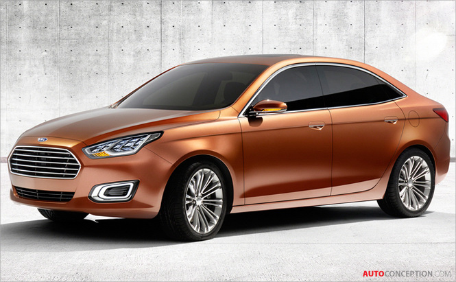 Auto Shanghai 2013: Ford Brings Back Escort to Woo Chinese
