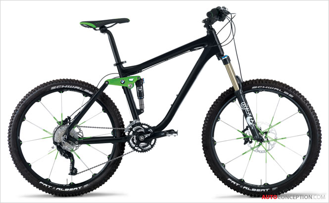 BMW Adds New Mountainbike Design to 'Lifestyle Collection'