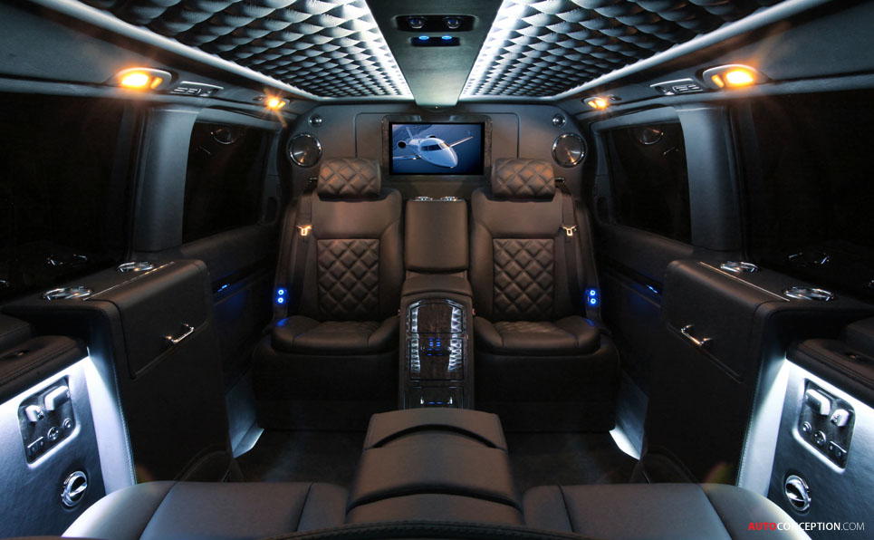 Designs on your van luxury interiors by carisma auto for Auto interior design ideas