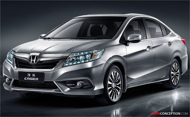 Honda Reveals First Model Designed in China for Chinese Market – 'CRIDER'