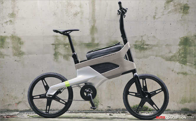 Peugeot Unveils AE21 Hybrid Cycle