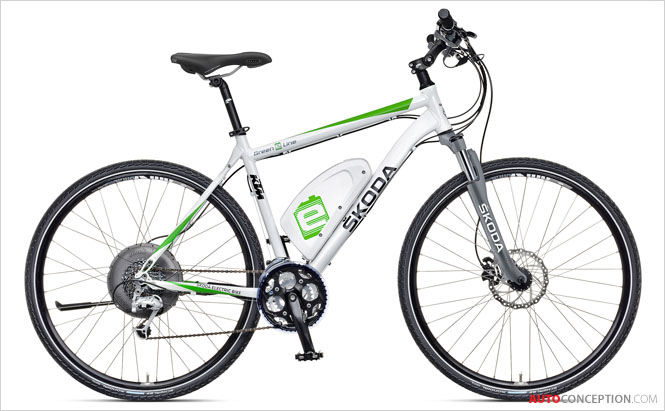 SKODA Reveals Brand's First Electric Cycle