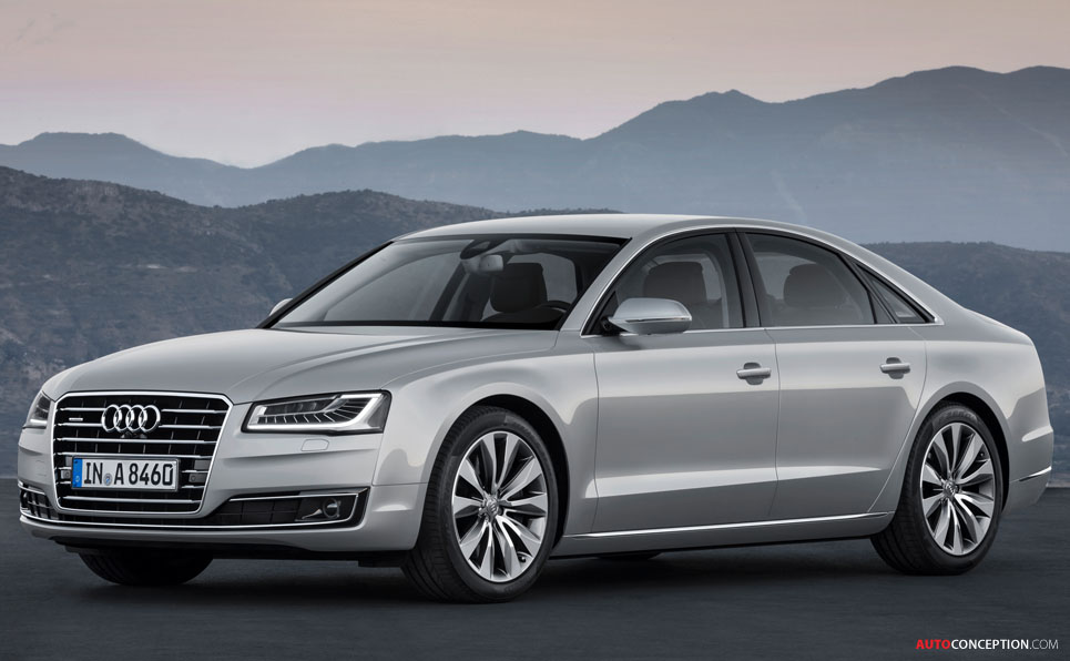 Facelifted Audi A8 Officially Revealed