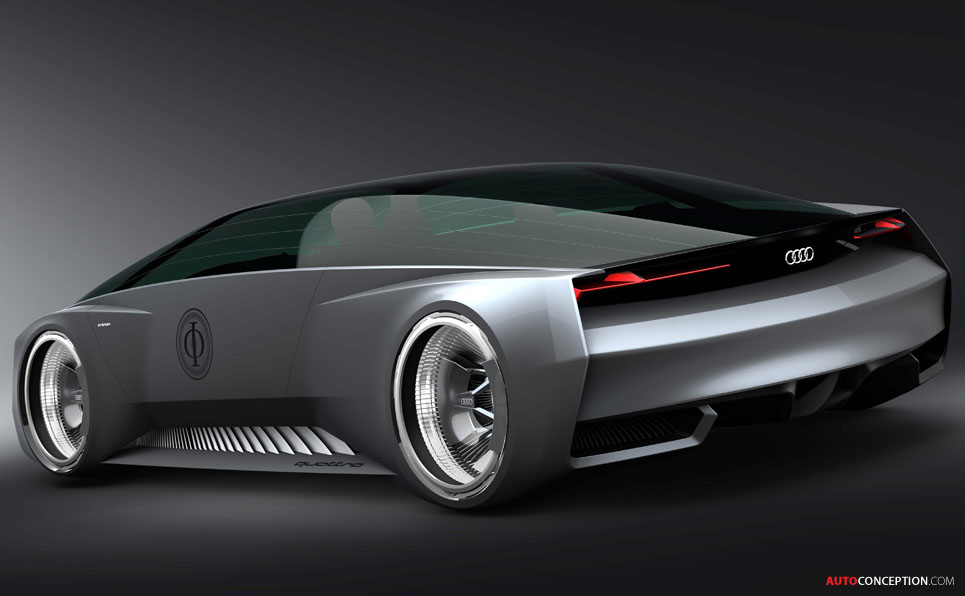 Virtual Vision Audi Designs Sci Fi Car For Ender S Game