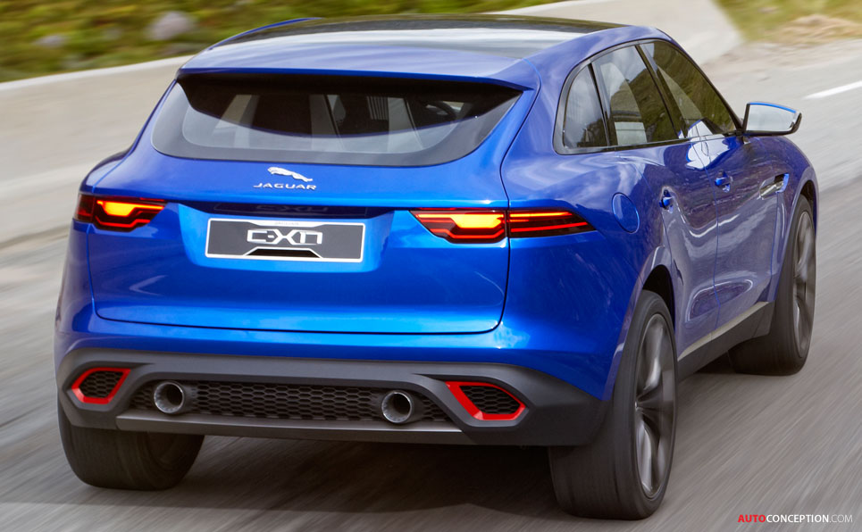 Jaguar Reveals C-X17 Sports Crossover Concept ...