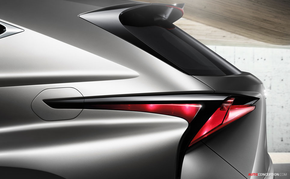 New LF-NX Concept Hints at Potential Compact Lexus SUV
