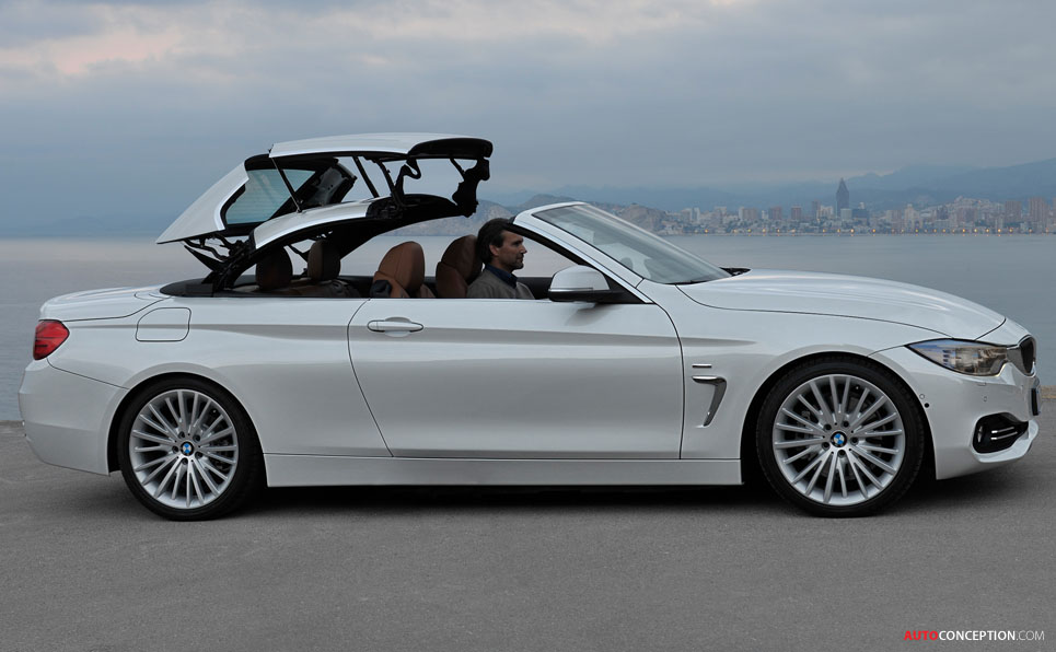 New BMW 4 Series Convertible Revealed