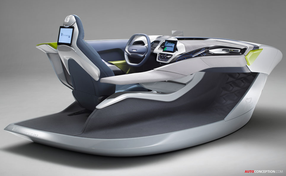 Car Interior Design Faurecia Demos Performance 2 0 Concept