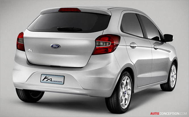 Ford Unveils All-New Ka Concept