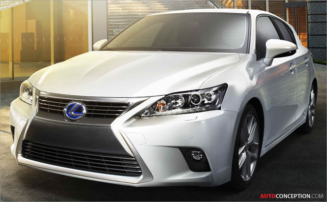 New Lexus CT 200h to Make Global Debut in China