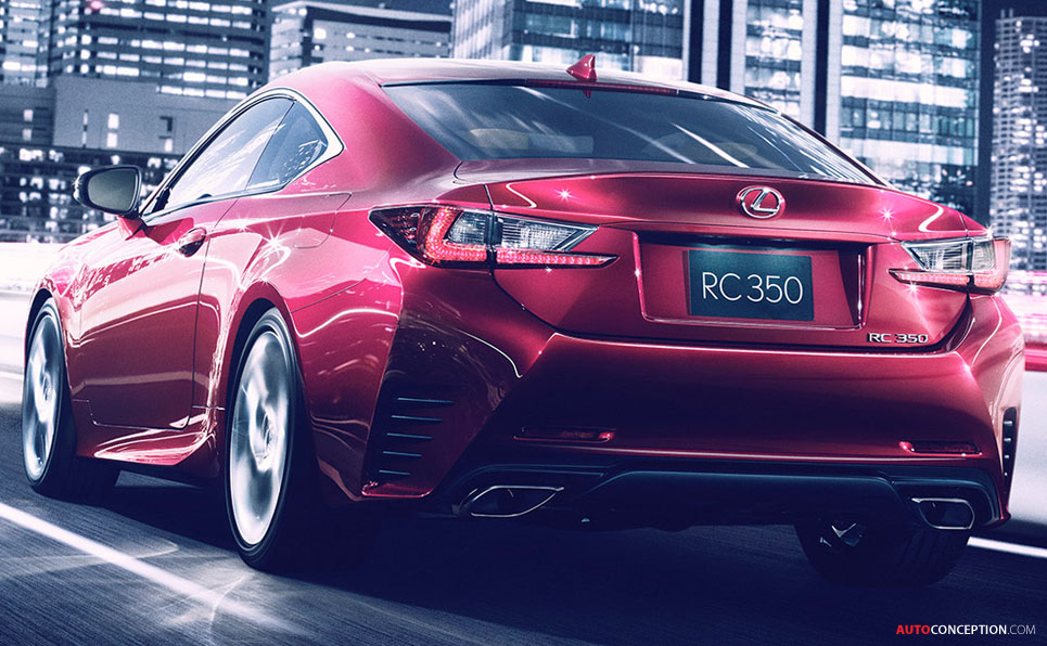 All-New Lexus RC to Make Global Debut at Tokyo Motor Show