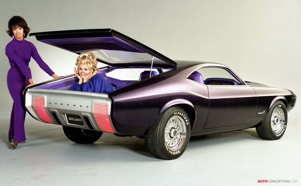 Ford Mustang Retrospective Part III: The 1970 Mustang Milano Concept