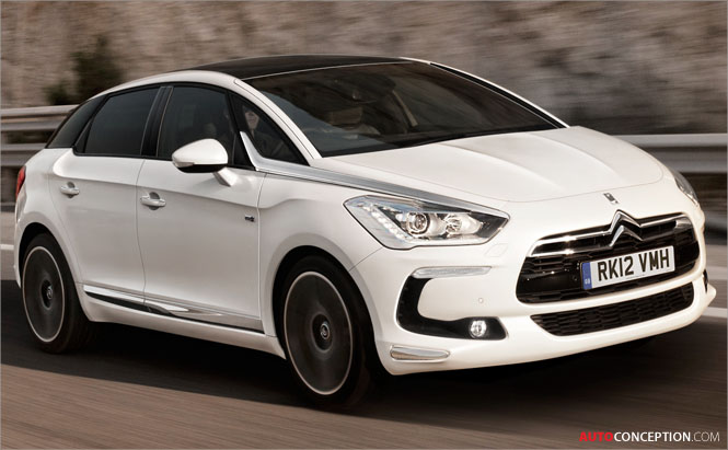 Citroën DS5 Wins China 'Car of the Year' Design Award