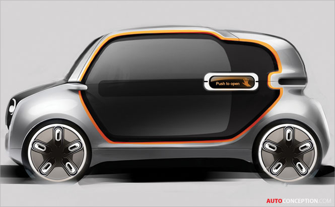 Royal College of Art Students Envision Future Fiat 500 and Panda Car Designs