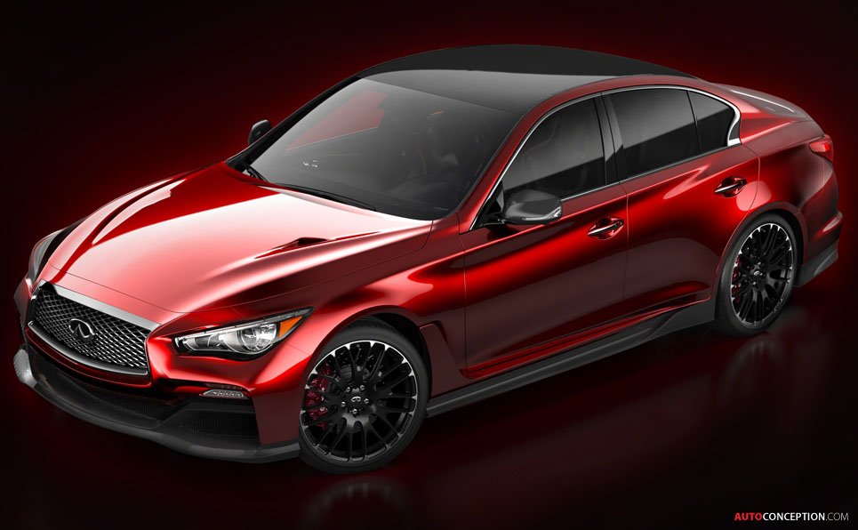 Infiniti Reveals First Rendering of Q50 'Eau Rouge' Concept