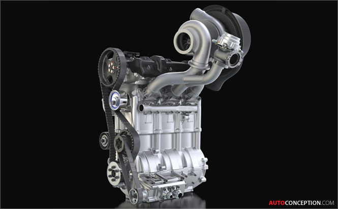 Nissan Unveils New Ultra Compact Engine Design