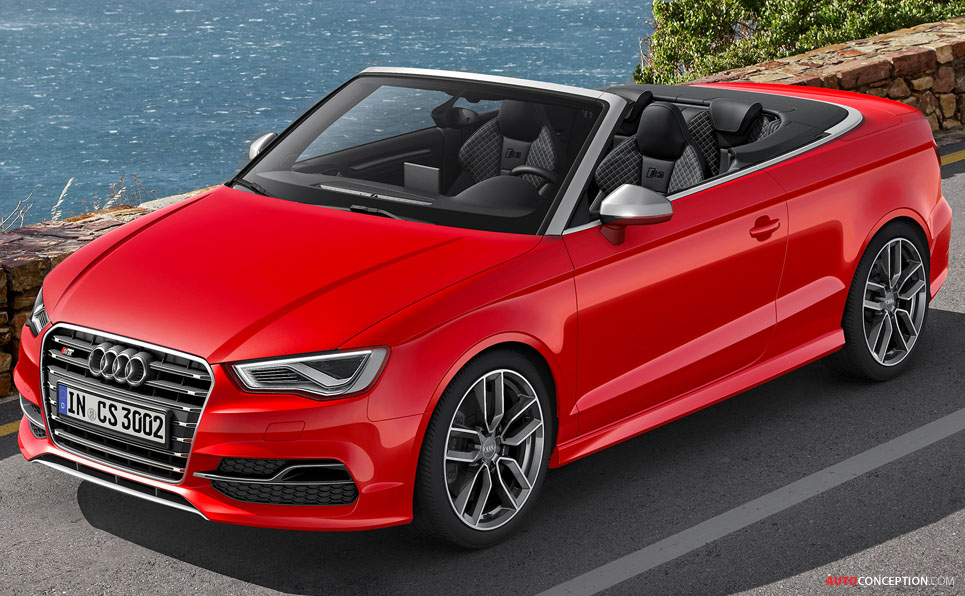 Audi Takes Wraps Off New S3 Cabriolet