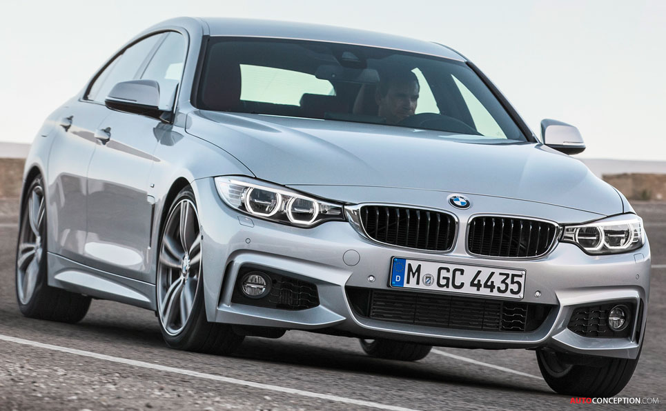 BMW 4 Series Gran Coupe Officially Revealed