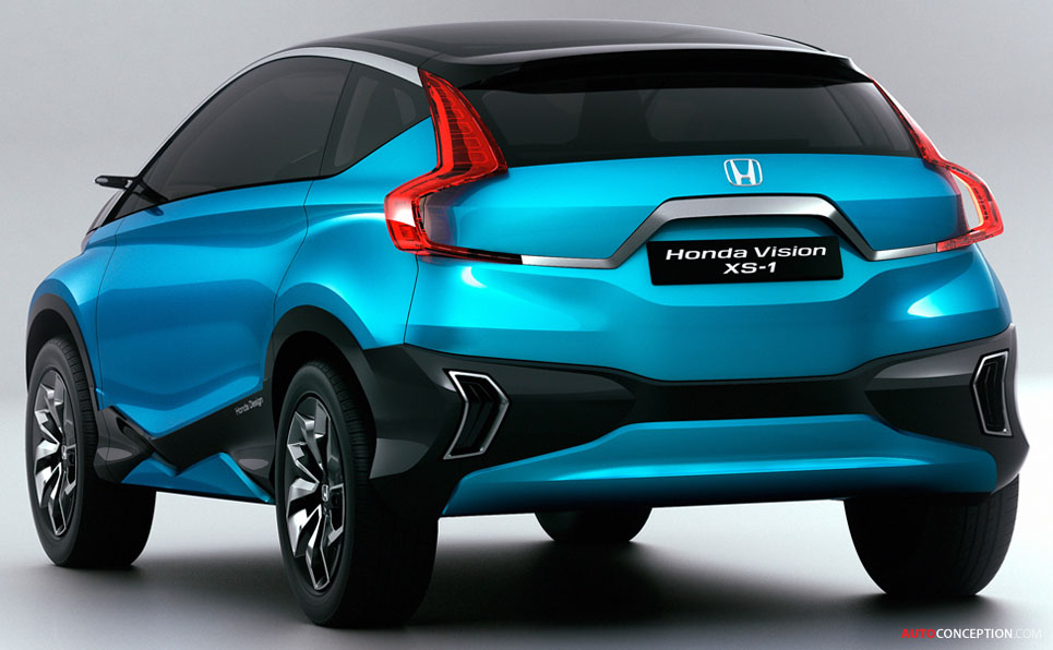 Honda Reveals 'Vision XS-1' Concept Car in India