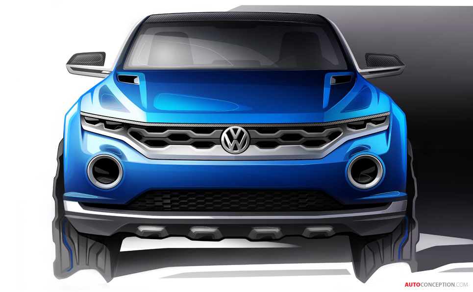 Volkswagen Previews New 'T-ROC' SUV Concept
