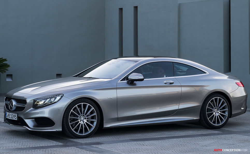 New Mercedes S-Class Coupe Officially Revealed ...