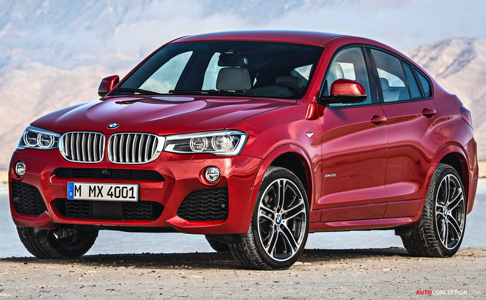 New BMW X4 Officially Revealed