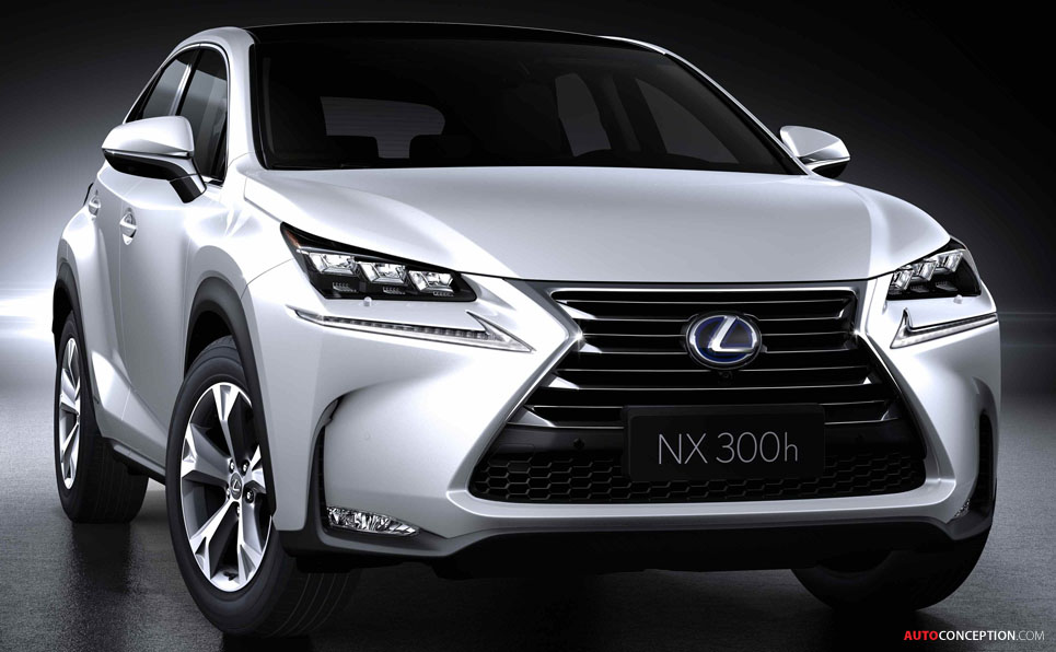 New Lexus NX: First Pictures Revealed