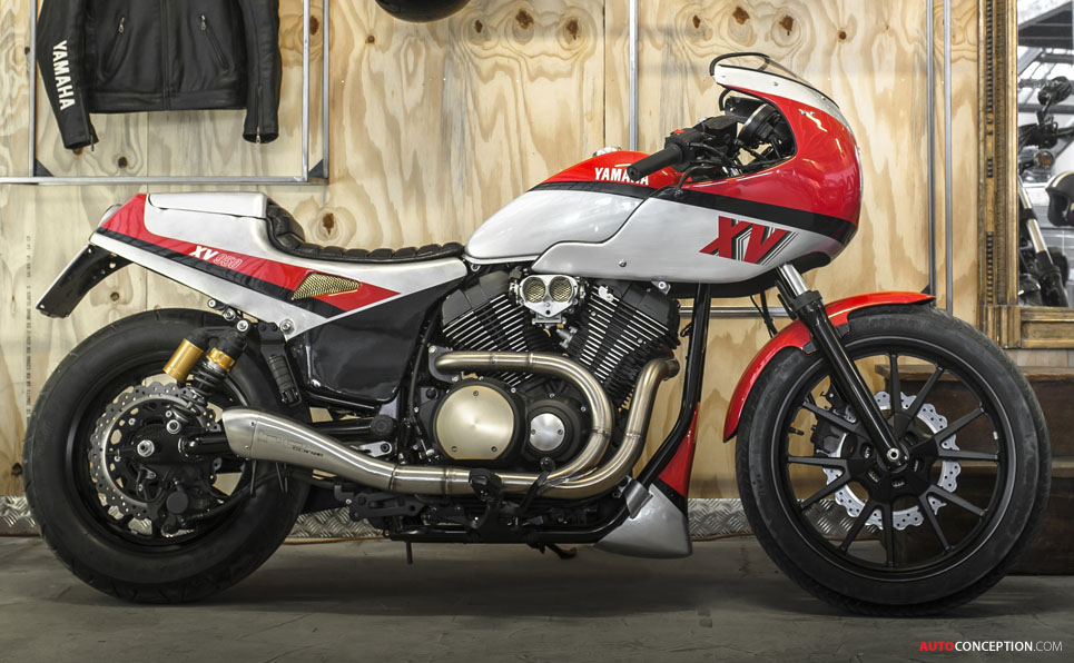 Eighties Icon Reimagined with Yamaha's New Yard Built XV950 'Pure Sports'