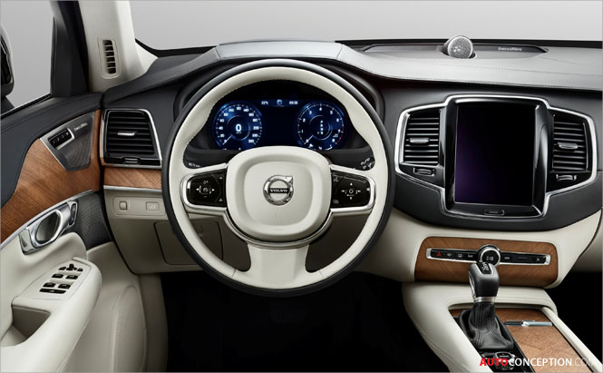 Volvo Previews Next-Generation XC90 by Revealing Interior