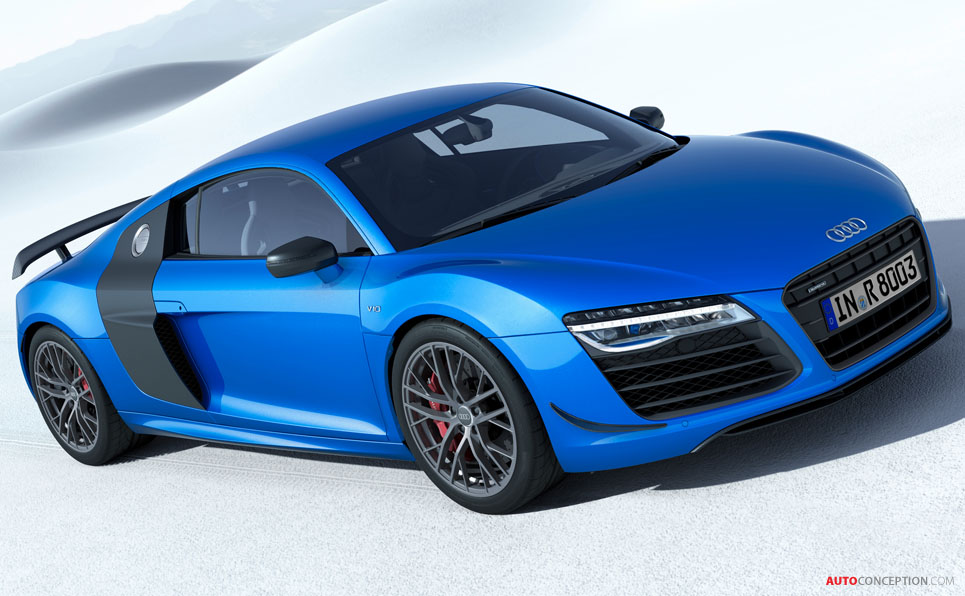 Audi Reveals Limited Edition R8 'LMX'