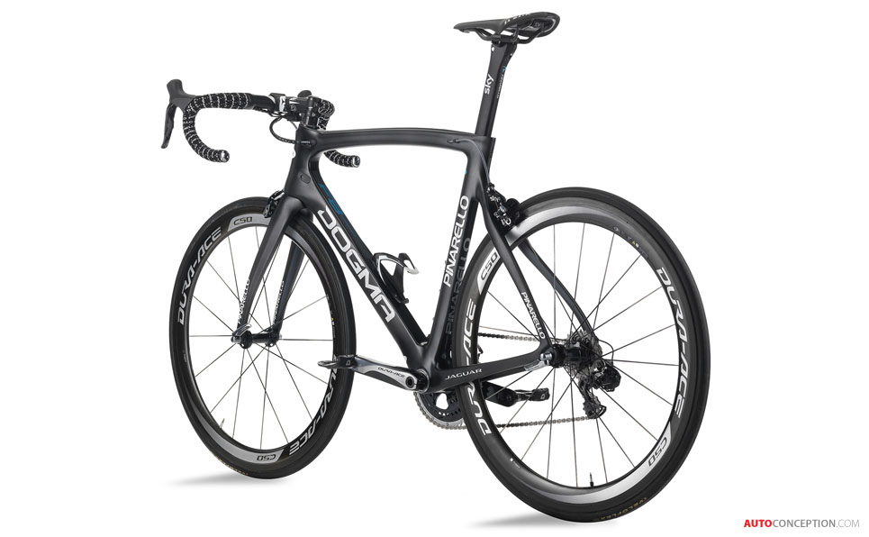 Jaguar Helps Pinarello to Design New Tour de France Racing Bike