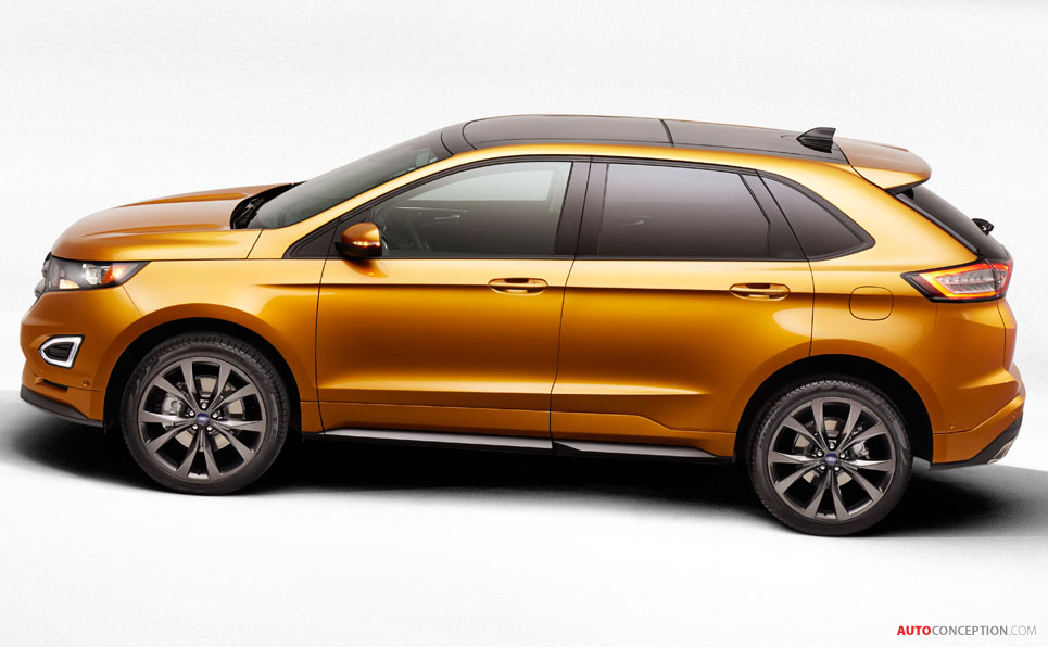 2007 Ford Edge For Sale >> Ford Reveals All-New Edge SUV - AutoConception.com ...