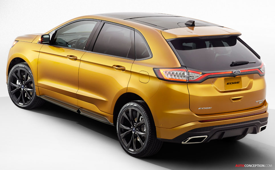 ford suv edge reveals autoconception june posted