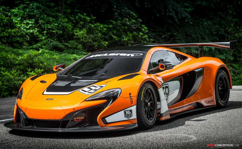 McLaren 650S GT3 Unveiled at Goodwood Festival of Speed