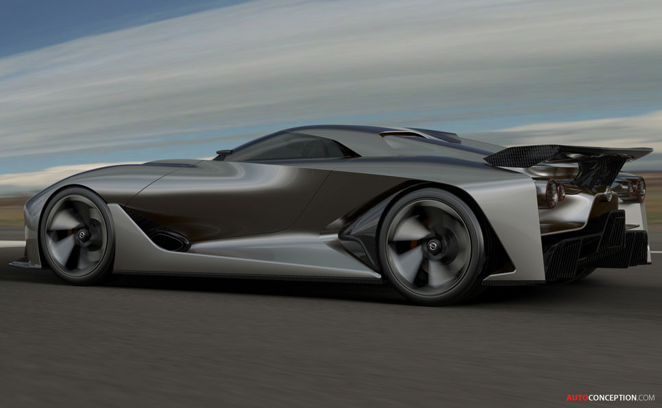 Nissan's Virtual Concept Car Previews Future Design ...