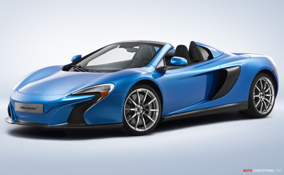 McLaren to Unveil Special Edition P1 and 650S Spider at Pebble Beach