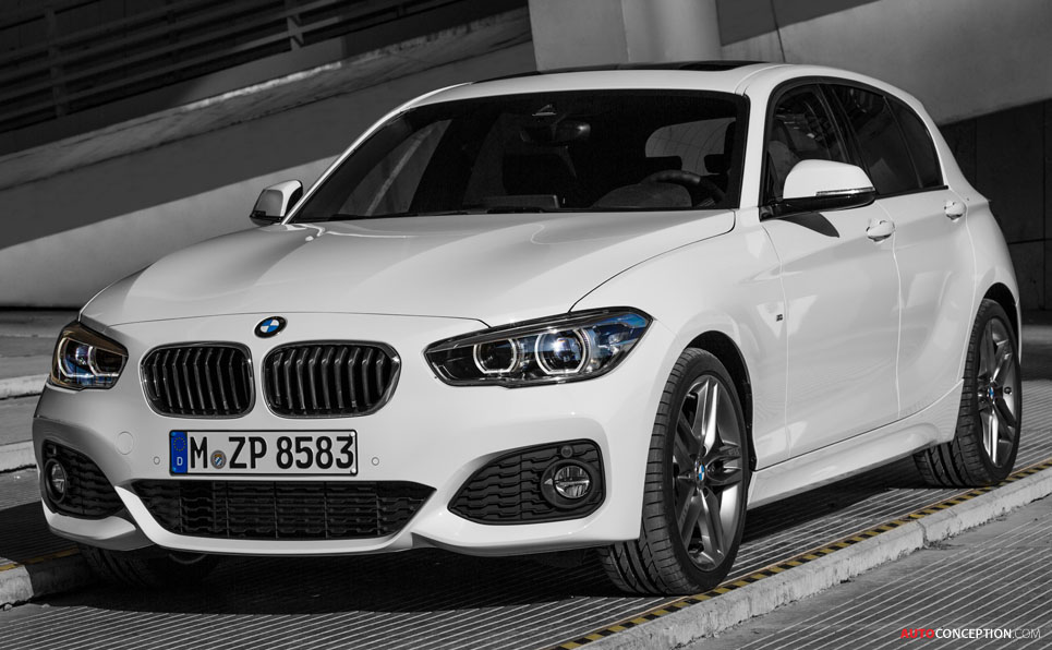 BMW 1 Series Facelift Revealed