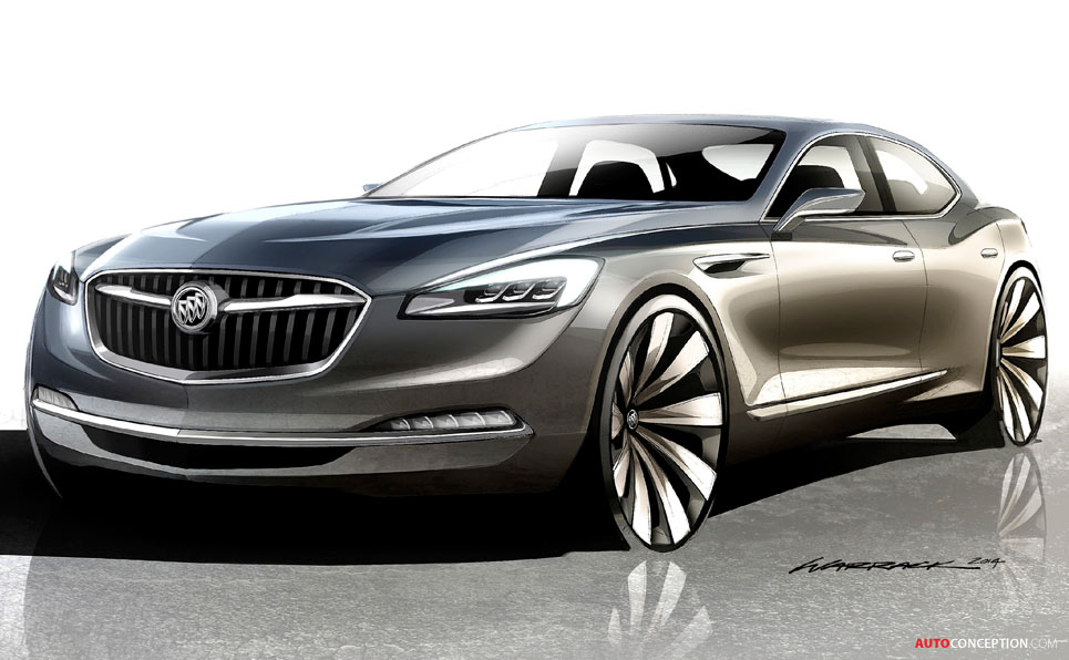 Buick Explores Future with Avenir Concept Car ...